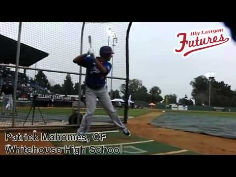 PATRICK MAHOMES, OF, WHITEHOUSE HIGH SCHOOL, SWING MECHANICS AT 200 FPS