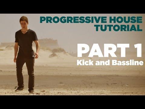 How to make Progressive House: Part 1/7 - Kick and Bassline