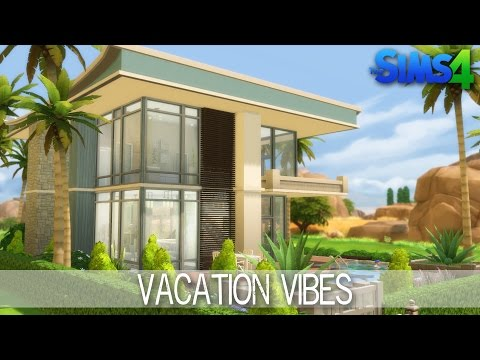 The Sims 4 - House Building - Vacation Vibes