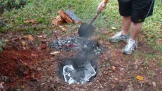 Cooking Chicken In The Dirt