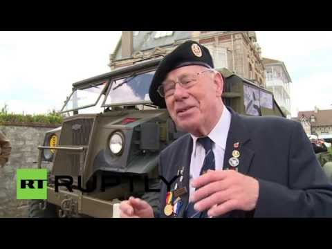 France: WWII veterans remember D-Day at Sword Beach