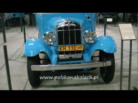 Rugby Express L z MPK Kraków w Muzeum Inżynierii w Krakowie