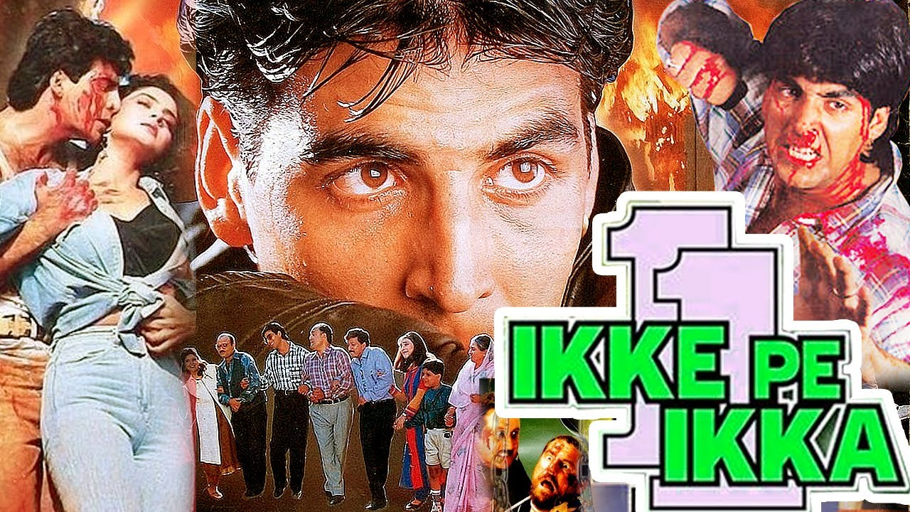 "Download Akshay Kumar Blockbuster Action Movies   New Hindi Full Action Movies Full HD ""IKKE PE IKKA""    MF"