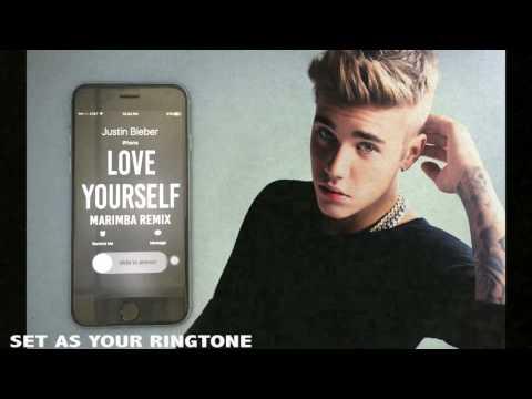 Justin Bieber Love Yourself Marimba Remix Ringtone