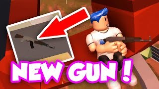 BRAND NEW AK-47 GUN UPDATE!! (Roblox Jailbreak)