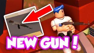 NUOVISSIMO AGGIORNAMENTO AK-47 FUCILE!! (Roblox Jailbreak)