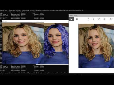 Do Virtual Makeup with Neural Networks...