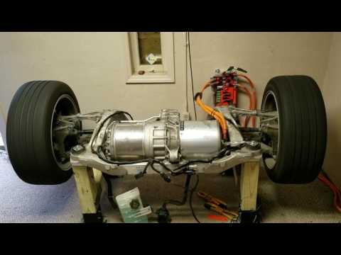 Tesla Motor Test Bench - QA/Sale Prep (Custom control package)