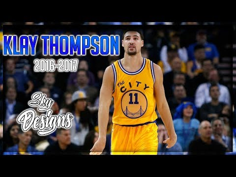 Klay Thompson Official 2016-2017 Season Highlights // 22.3 PPG, 3.7 RPG, 2.1 APG