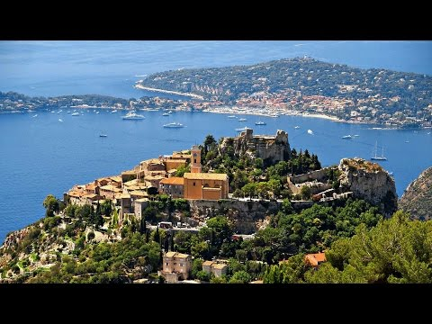 Eze Village French Riviera HD