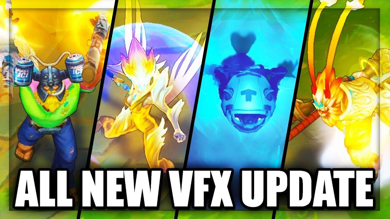 Surrender at 20: 11/6 PBE Update: New skin updates, New