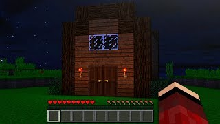 This MINECRAFT House is CURSED! *SCARY*
