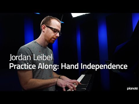 Piano Practice Along: Hand Independence - Piano Live Lesson (Pianote)