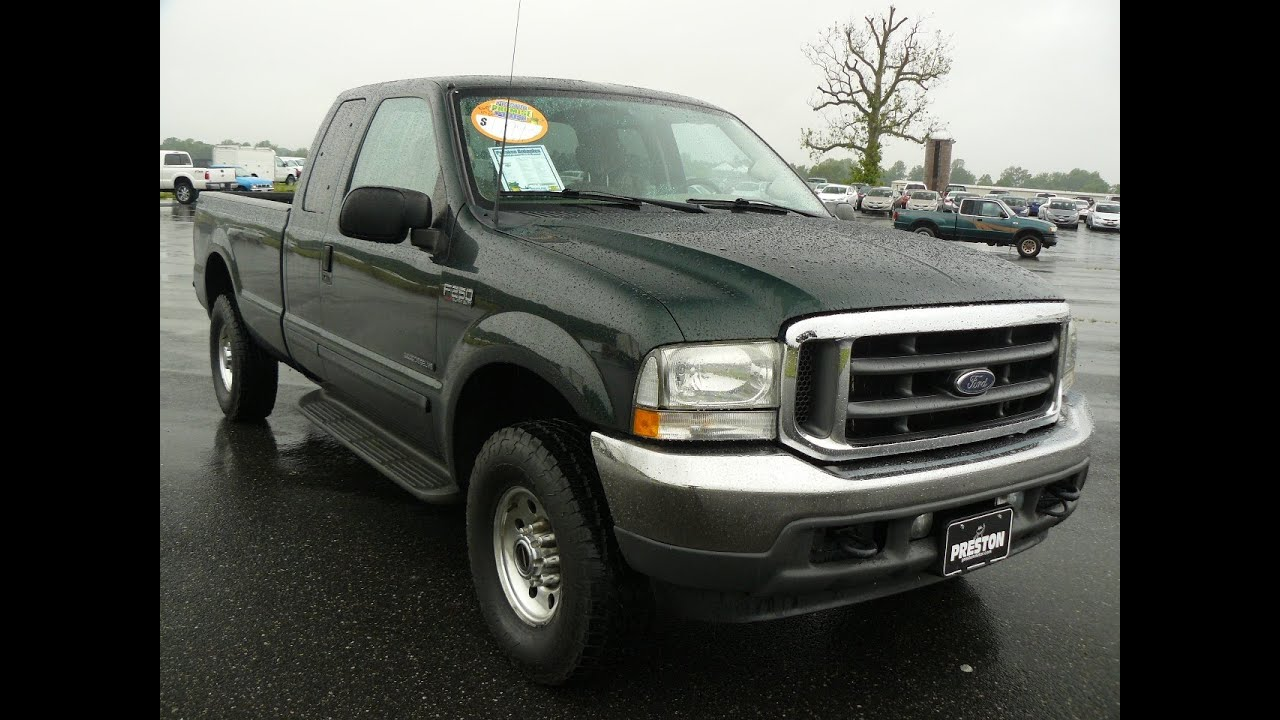 2002 ford f250 xlt diesel v8 4wd for sale maryland ford dealer youtube. Black Bedroom Furniture Sets. Home Design Ideas