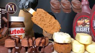ASMR CHOCOLATE ICE CREAM TICO …