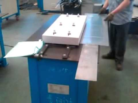 2-LC -10E Lock Forming Machine For India Friend