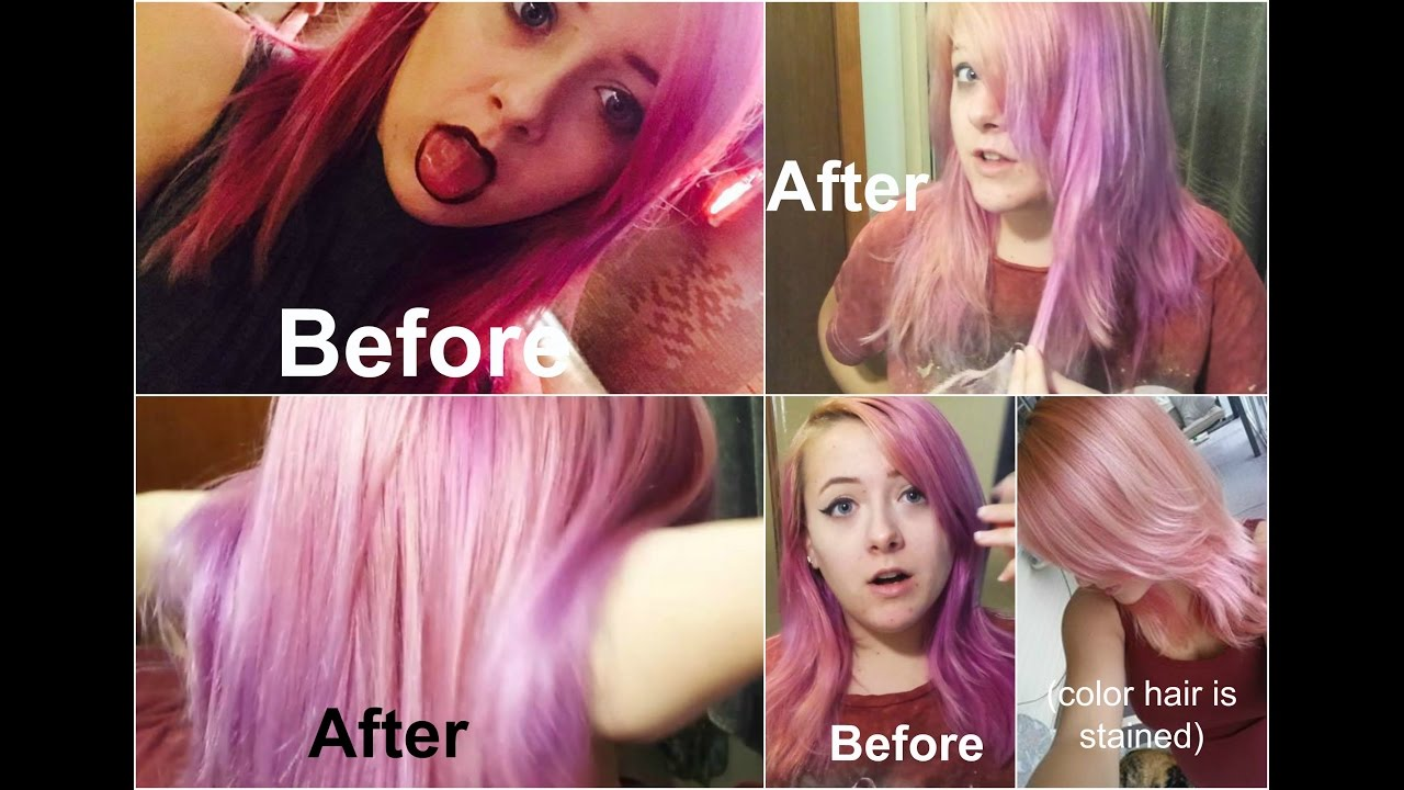 Natural Ways To Remove Red Hair Dye