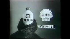 Shellin Supertyttö-Supermies-mainoksia 1960-70-luvuilta