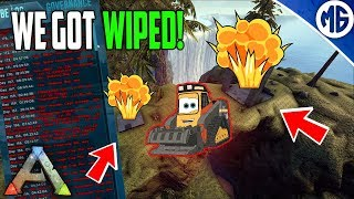 WE GOT WIPED! Small Tribe Servers Official PvP Ep 6 - Ark: Survival Evolved