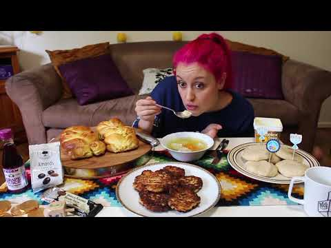 Sorry Trisha Paytas! AUTHENTIC Jewish Food Eating Show