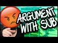 SUBSTITUTE ARGUING WITH ME! | LIFESTORY