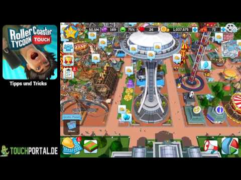 RollerCoaster Tycoon Touch Tipps und Tricks Guide - YouTube