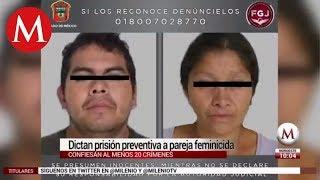 Pareja feminicida implicada en al menos 20 crímenes: MP