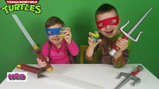 - Черепашки ниндзя распаковывают сюрпризы Mashems Mutant Ninja Turtles
