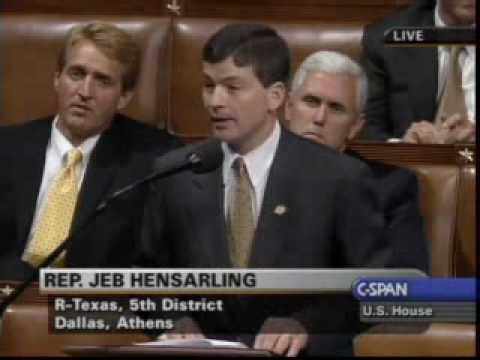 Jeb Hensarling (R-TX) is a Badass