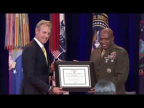 Lt. Gen. Vincent Stewart Awarded The Defense Distinguished Service Medal