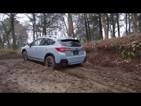 Subaru Crosstrek Off Road >> New 2018 SUBARU XV Off-Road Test - YouTube