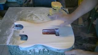 How to Strip And Refinish an Electric Guitar Body And Neck