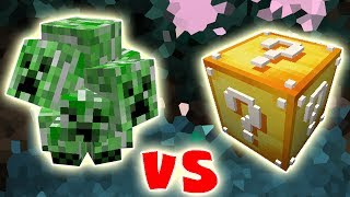 CREEPERS VS. LUCKY BLOCK (MINECRAFT CREEP LUCKY BLOCK CHALLENGE)