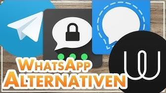 Die 4 BESTEN WhatsApp-Alternativen 2019 📲