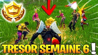 "SECRET ""FOUILLER between a GAME AIRE, a CAMPING TERRAIN and a NOT EMPREINTE"" on FORTNITE"