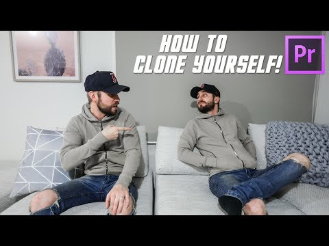 HOW TO CLONE YOURSELF!   editing tutorial