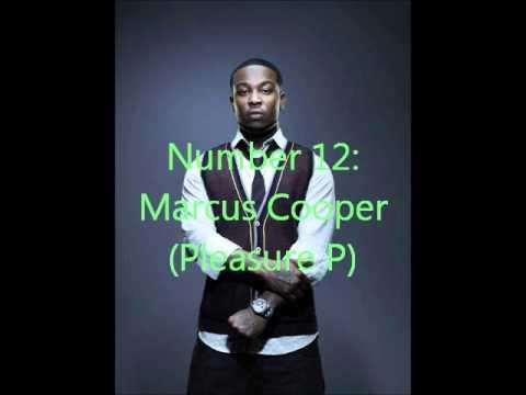 My Top 20 R&B Male Artist