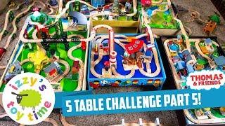 Томас і друзі | 5 таблиця виклик частина 5! Забавна іграшка Томас поїздів для малюків і дітей з Запалом