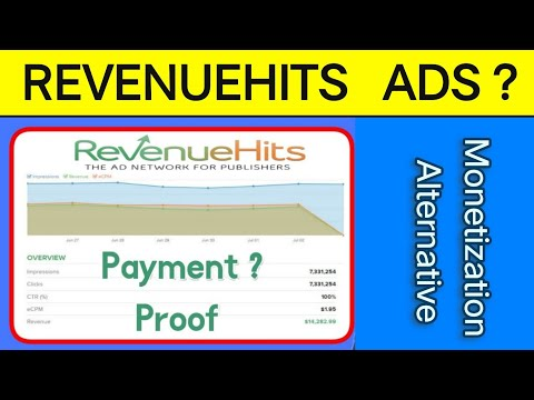 Revenuehits Ads Network Daily Ur Monthy Kinta Pay Kerta He | Revenuehits Payment Proof