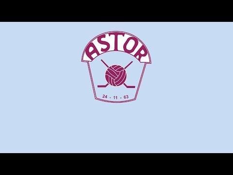 Hockeysanger - Astor Hockey - Burgunder og Blå