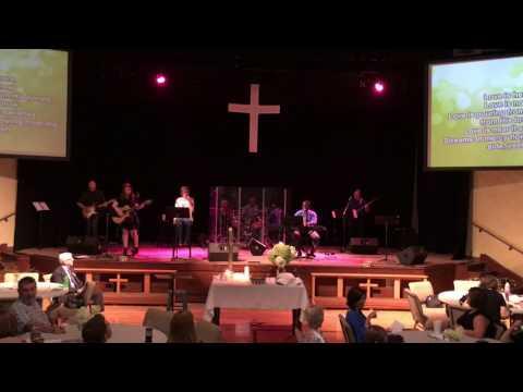"""Love Is Here"" Anniston First United Methodist Church praise band"
