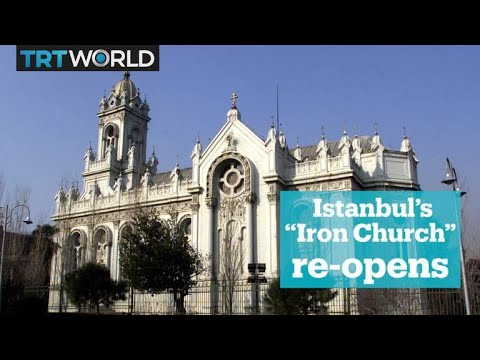 Istanbul's iconic 'Iron Church' reopens after seven years