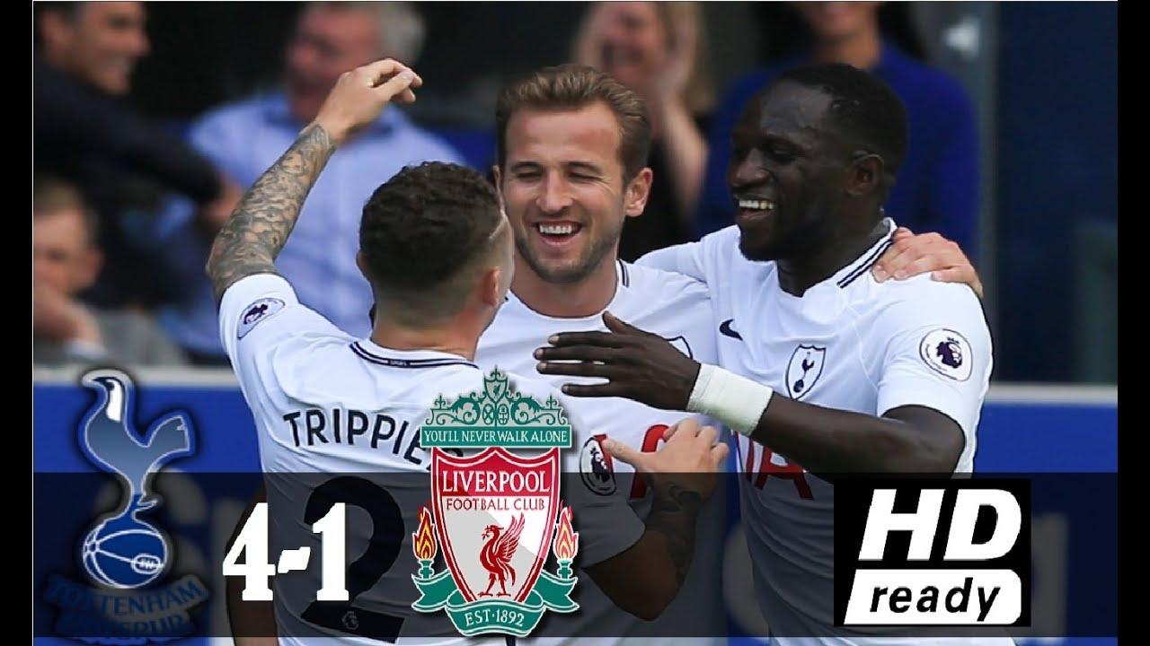 Download Tottenham vs Liverpool 4-1 All Goal & Highlights - England - Premier League 22/10/2017 HD