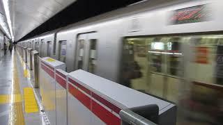 都営地下鉄 大江戸線 両国経由が森下駅を発車
