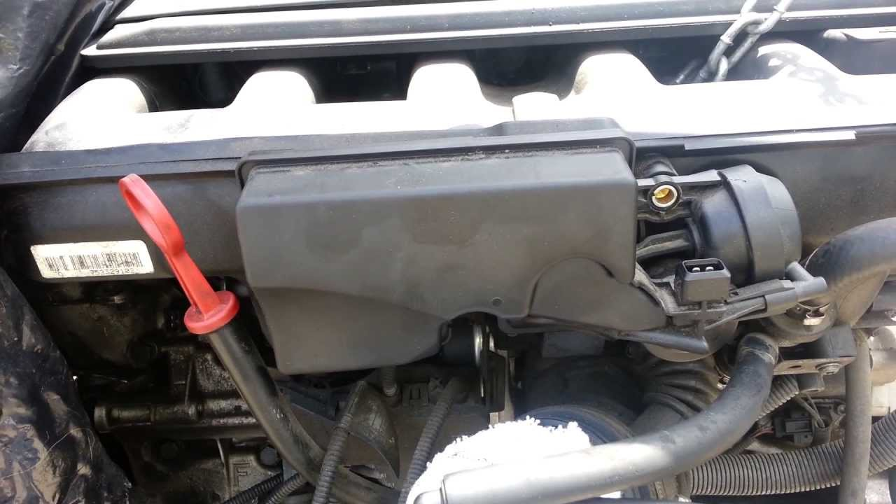 Bmw E39 530i E46 330i Intake Manifold Adjusting Disa Valve Removal Youtube