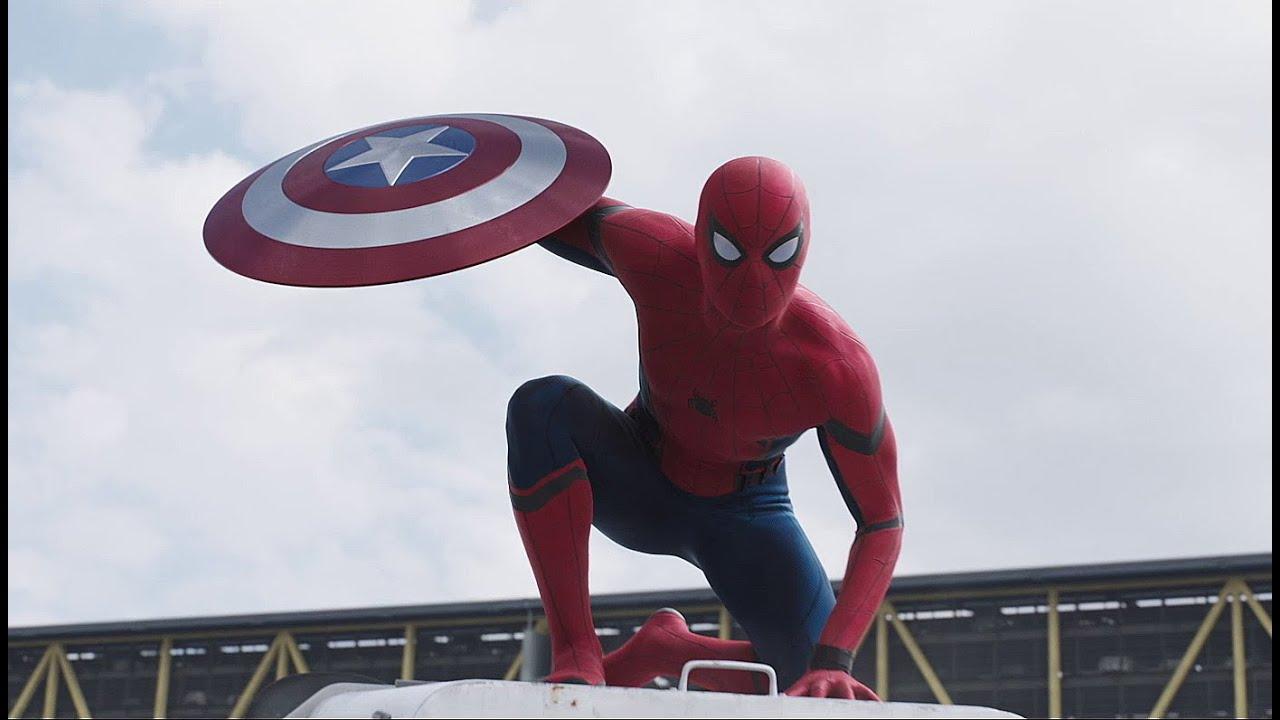 CAPITÁN AMÉRICA: CIVIL WAR   Tráiler con Spider-Man (doblaje español latino)