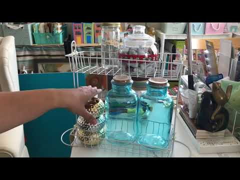 Dollar Tree DIY Multi Purpose Organizer for Tiny House, Dorm Room, Small Spaces, Apartments Final
