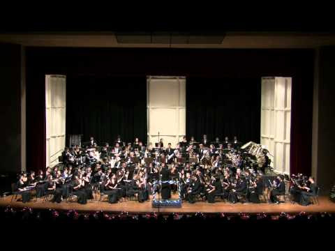 """""""On Angel Wings"""" by Moanalua High School's Symphonic Band @2010 Winter Concert"""
