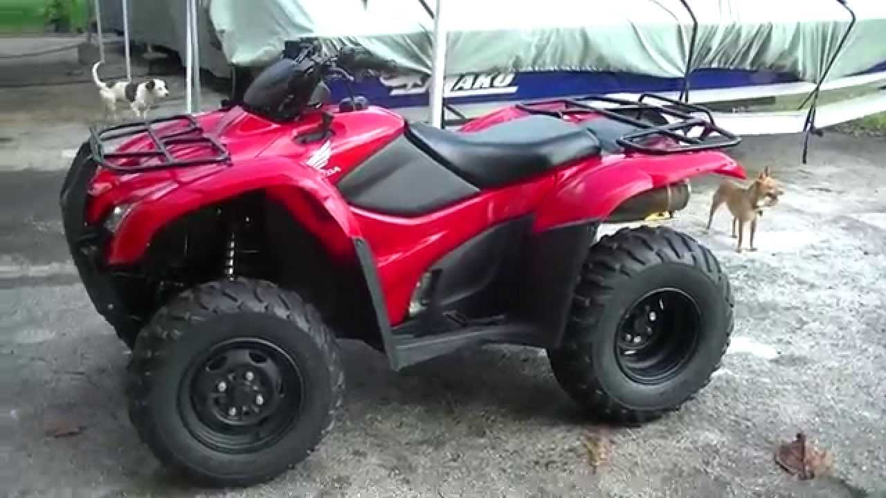 2008 Rancher 420 Es Efi 4x4 Overview Youtube