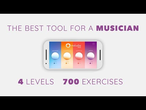 The Meludia Melody Mobile App: the best way to learn music